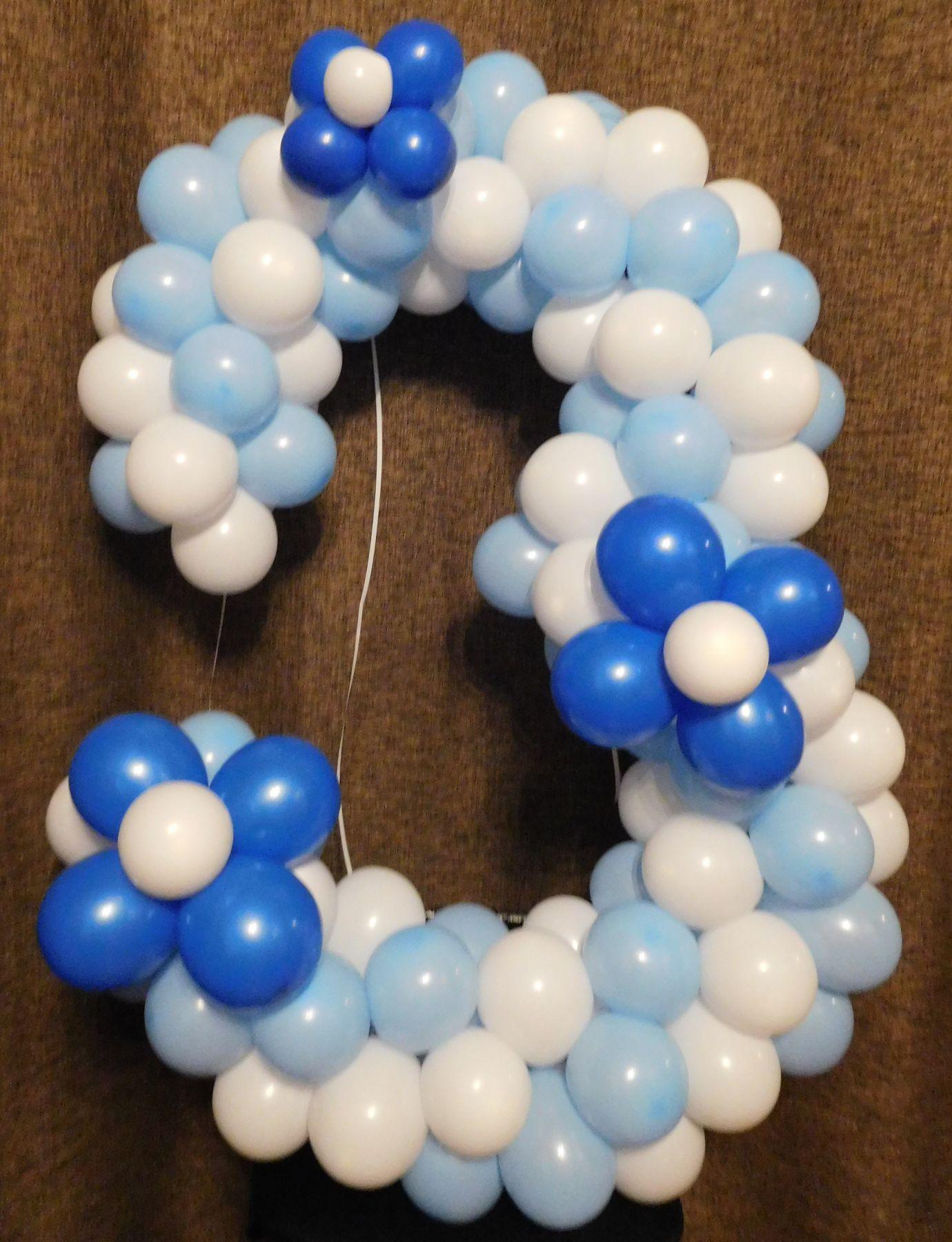 Как из шариков сделать цифру 5