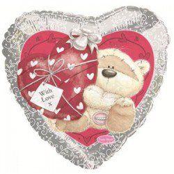 Сердце с мишкой