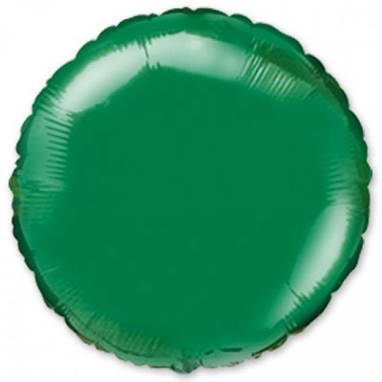 Круг зеленый