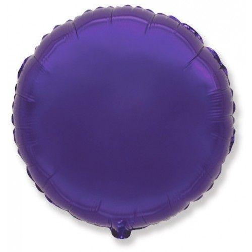Круг фиолетовый